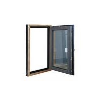 意式木铝复合窗