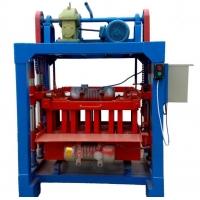 小型半自动混凝土空心砖机