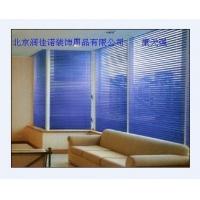 北京铝百叶窗帘办公卷帘遮光卷帘木百叶帘电动窗帘