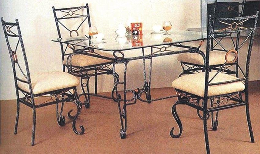 佛山厂家直供欧式铁艺桌椅图片