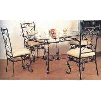 佛山厂家直供欧式铁艺桌椅