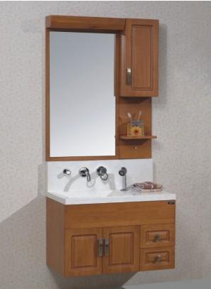 成都美家新卫浴--美家新现代实木浴室柜