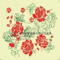 广东省 液体壁纸漆丝网印花模具 液体壁纸漆模具价格 丝网印花