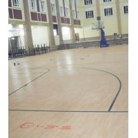 WanAo万奥地板-蓝球pvc地板-篮球塑胶地板-篮球专用地