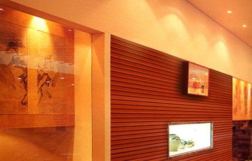 生态木电视背景墙图片
