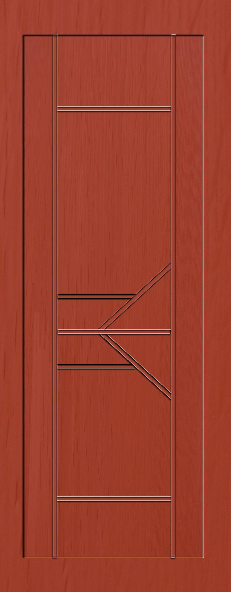 木门定做实木平板门凹式系列