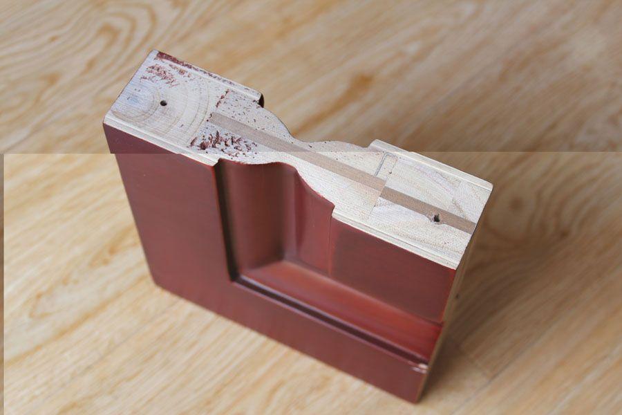 不锈钢门套施工图_多层实木门套剖面图_平面设计图