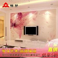 电视背景墙瓷砖 客厅背景墙 艺术背景墙砖 红樱