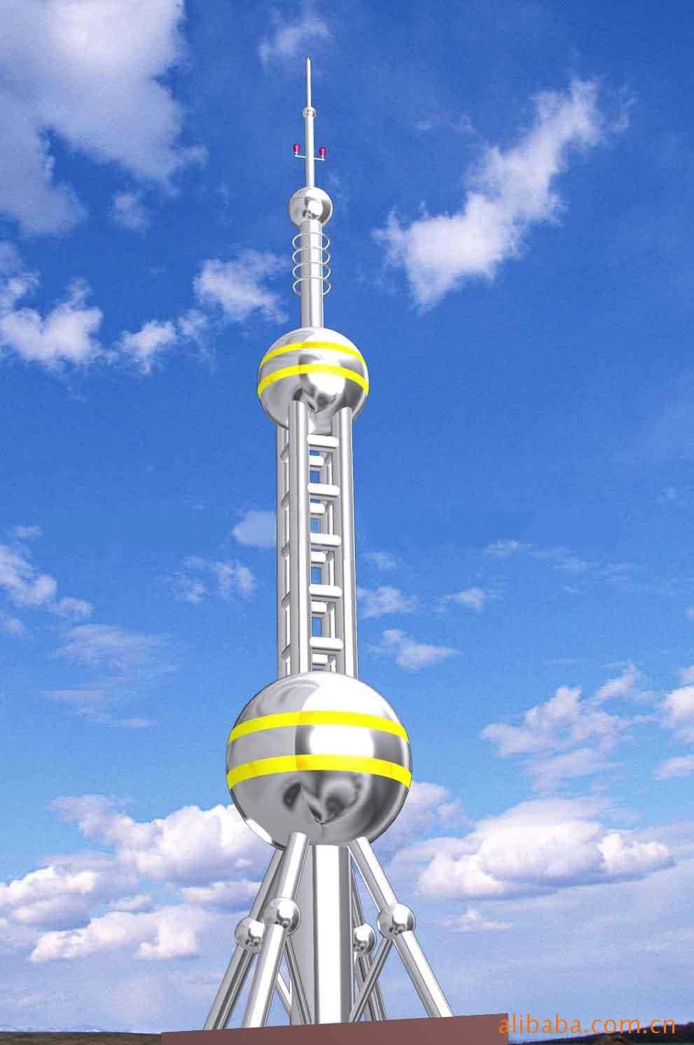 工艺装饰塔,样式多样,外形美观,设计新颖独特,广泛应用于各类大楼楼顶、广场及小区的绿地等的建筑,使之与建筑物交相辉映,成为标志性的装饰建筑。另外,公司本着科学创新的思路,加大了对工艺装饰铁塔的研究与开发,力争为每位客户设计制作出样式新颖,质优价廉的产品。宝丰铁塔公司生产15米工艺装饰塔,20米工艺装饰塔,25米工艺装饰塔,30米工艺装饰塔,35米工艺装饰塔,40米工艺装饰塔.