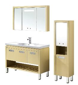 成都恒洁卫浴仿古实木浴室柜HGN5651
