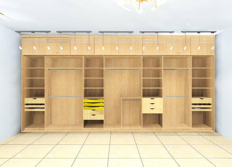 酒店衣柜格局设计图