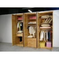 定制中式高端原木衣柜