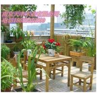 南京防腐木-南京碳化木-户外桌椅