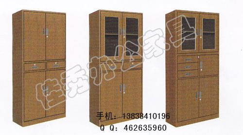 洛阳复塑文件柜厂家供应复塑玻璃柜 复塑文件柜