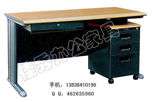 洛阳办公家具厂家供应办公桌 双柜办公桌 电脑桌 会议桌