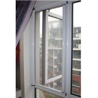 温州夏季防蚊隐形纱窗图片、温州金属门窗实体专营店