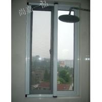 扬州新款高档防蚊隐形纱窗供应、扬州纱窗金属门窗店