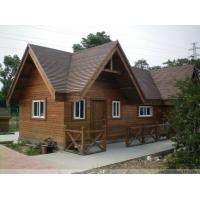 江苏绿檀防腐木木屋