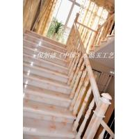 阁楼楼梯 仿玉石楼梯 楼梯立柱 代理加盟
