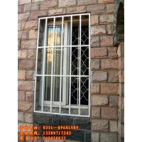 锌钢合金固定式防护窗