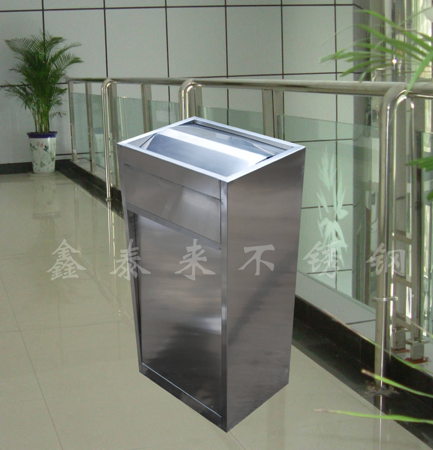 成都不锈钢废弃箱 垃圾桶