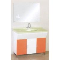 成都添丽卫浴-PVC浴室柜 TL-853(1米荷花盆)