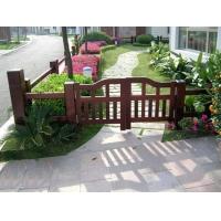 防腐木栅栏-陕西西安顺达园林景观建材