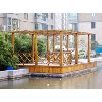 防腐木亲水平台-陕西西安顺达园林景观建材
