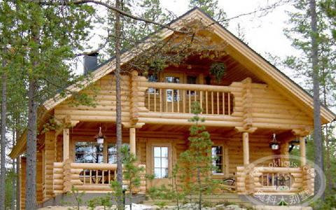 芬兰木屋图片