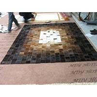 美家地毯奶牛皮拼块地毯001