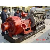 耐磨抽沙泵机组 泥沙泵