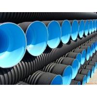 HDPE双壁波纹管专业供应  现货供应HDPE双壁波纹管