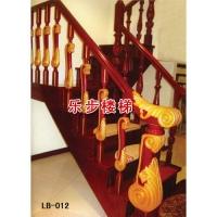 南京楼梯-南京乐步楼梯-实木楼梯-LB-012