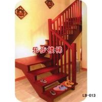 南京楼梯-南京乐步楼梯-实木楼梯-LB-013
