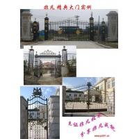 铁雕艺术品、铁艺大门、围栏、栅栏门、楼梯扶手、隔断、防盗门窗