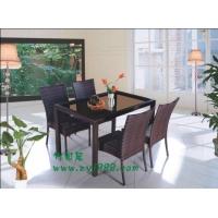 休闲家具 休闲桌椅 户外家具 仿藤桌椅