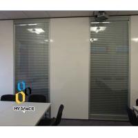 折叠玻璃屏风、移动屏风成品隔断墙、电动移动隔断