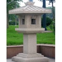 石雕,石灯,雕塑,宗教摆件雕塑