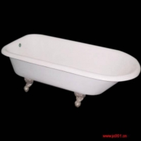 铸铁浴缸; 钢板浴缸; 瓷釉(粉)