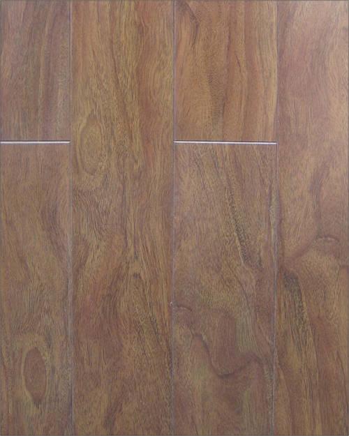 地宝龙地板-经典v型木地板-烟韵紫檀