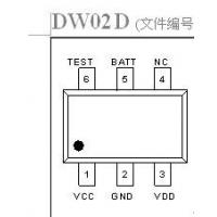 单芯锂离子保护IC,二合一锂电池保护IC