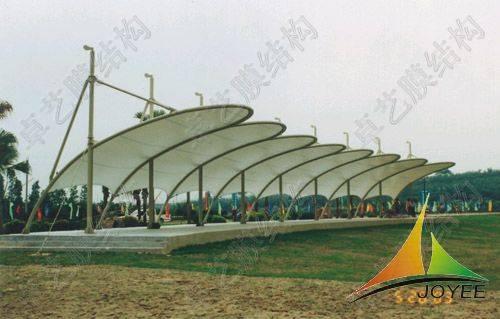 深圳 卓艺/膜结构是随着现代科学技术发展起来的全新建筑技术表现形式,是...