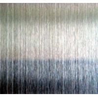 彩色不锈钢本色拉丝板