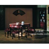 顺德名鼎檀红木家具-有凤来仪红木餐桌椅