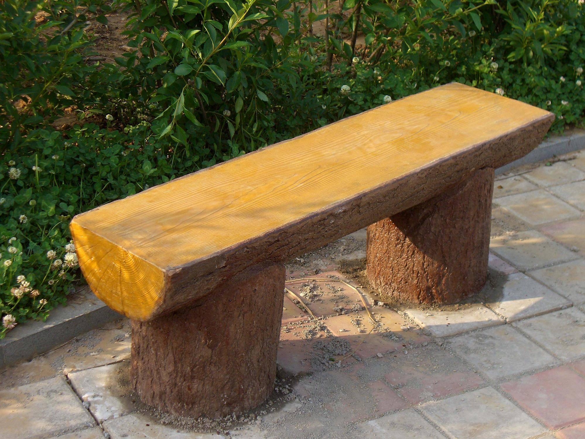 成都GRC仿木-仿木栏杆-仿木长椅