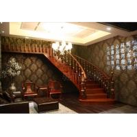 欧式原木楼梯