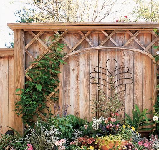 防腐木庭院花园设计图08