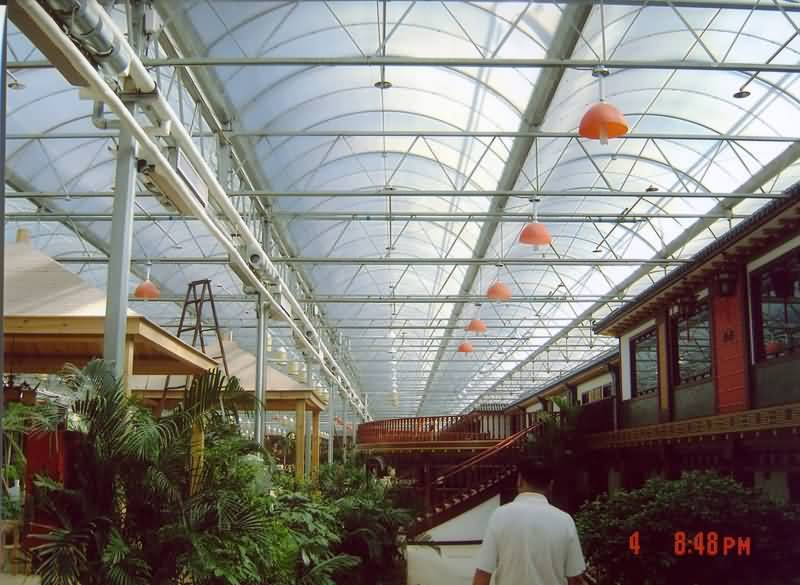 4.地铁出入口,车站,停车场,商场,凉亭,休息厅,走廊的雨棚.5.