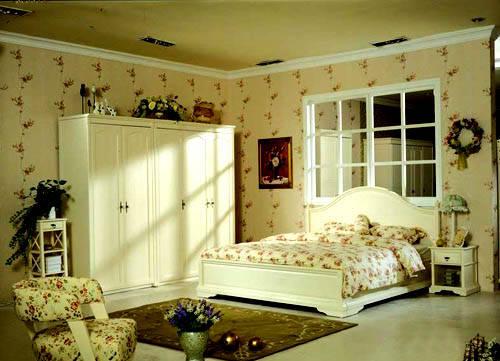 卧室欧式套组家具系列