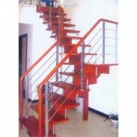 南京楼梯-南京钢木楼梯-南京欧步楼梯-钢木楼梯-2